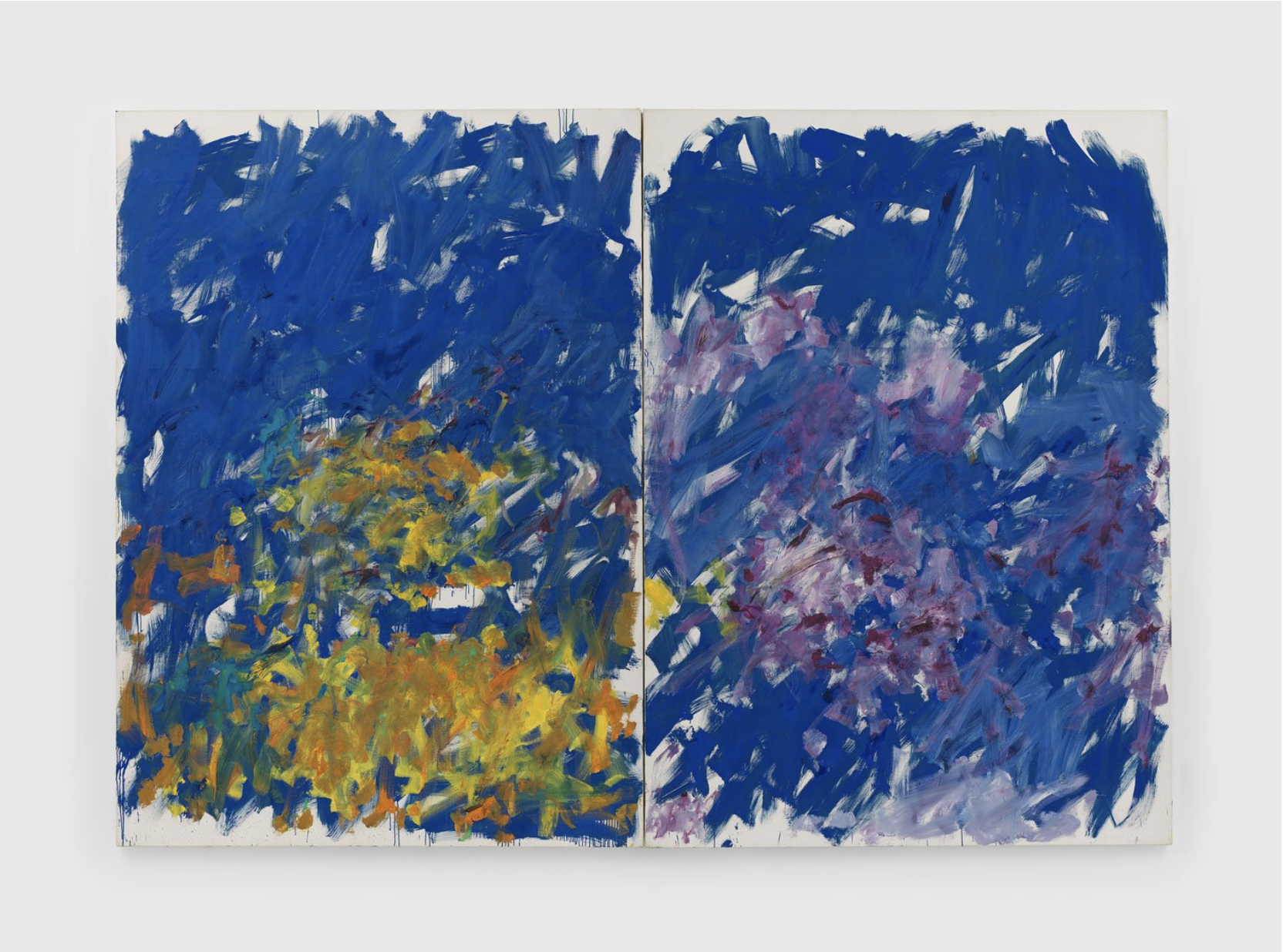 Joan Mitchell — Row Row — 1982